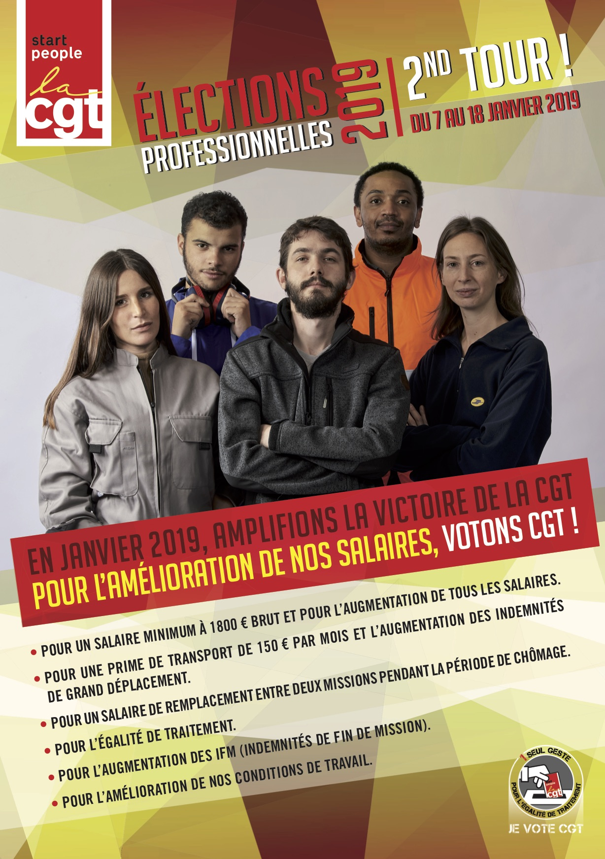 affiche 2tour elections start people